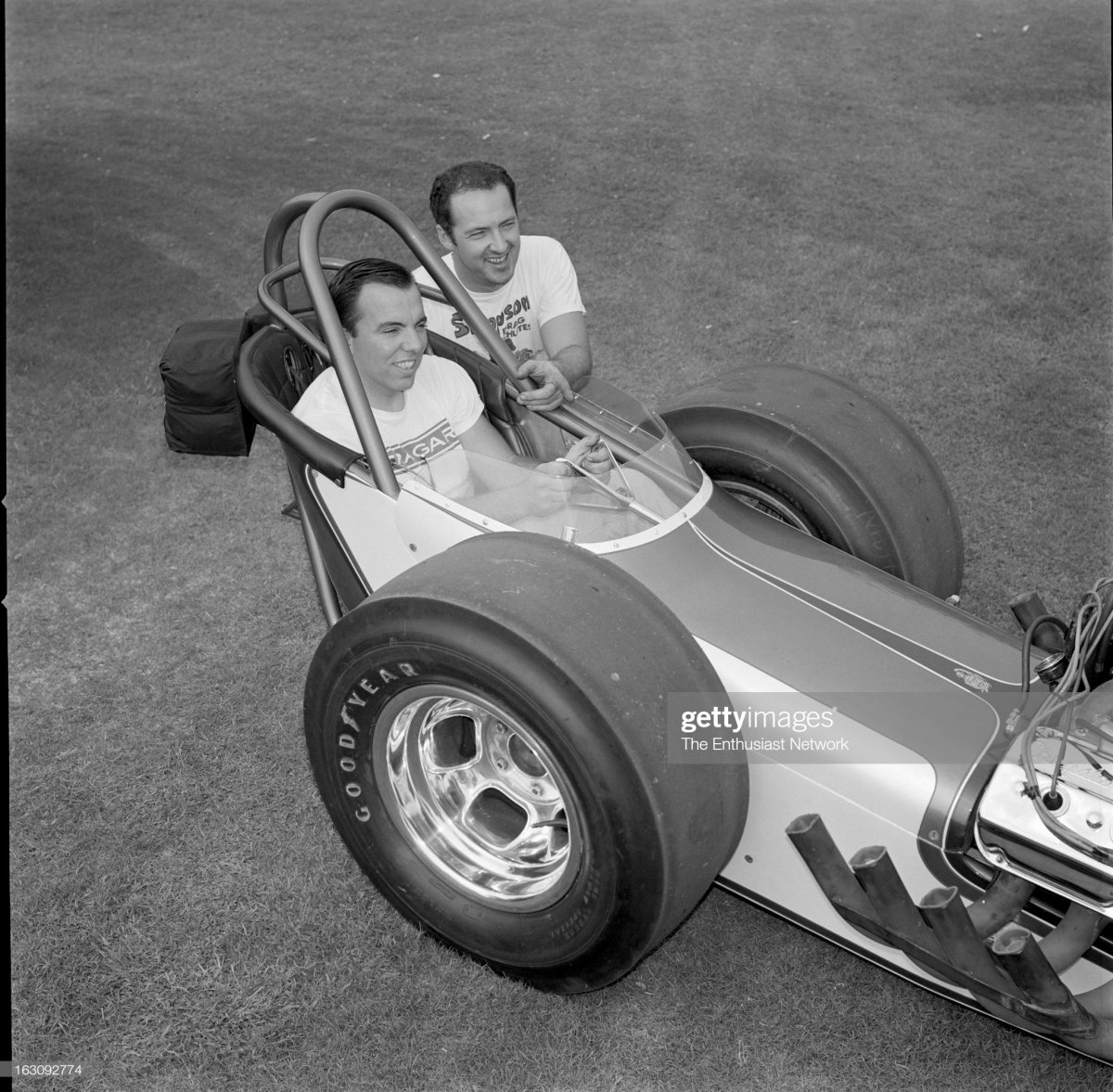 Woody Gilmore designed Dragster chassis with.jpg