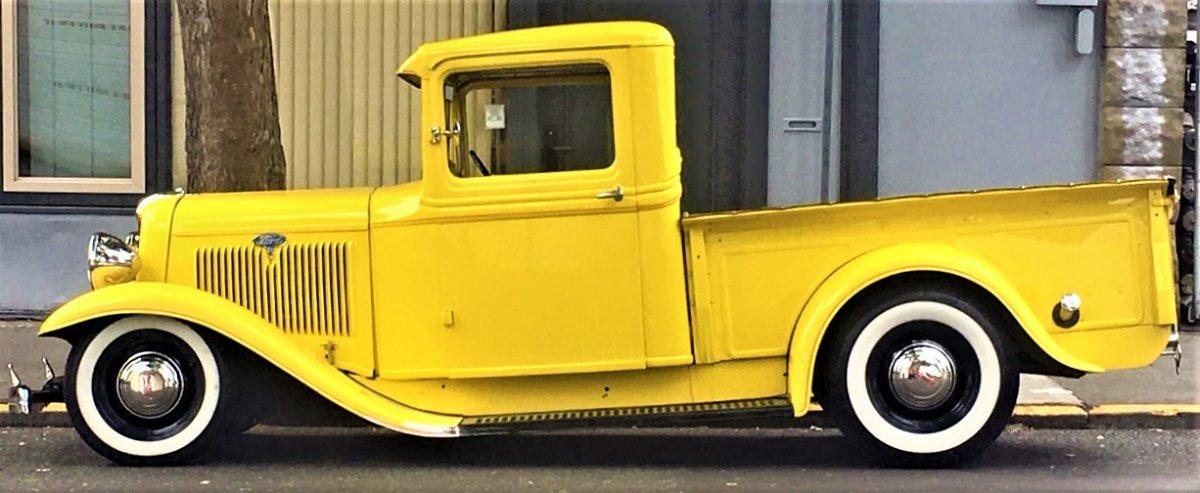 Yellow Pick up truck.JPG