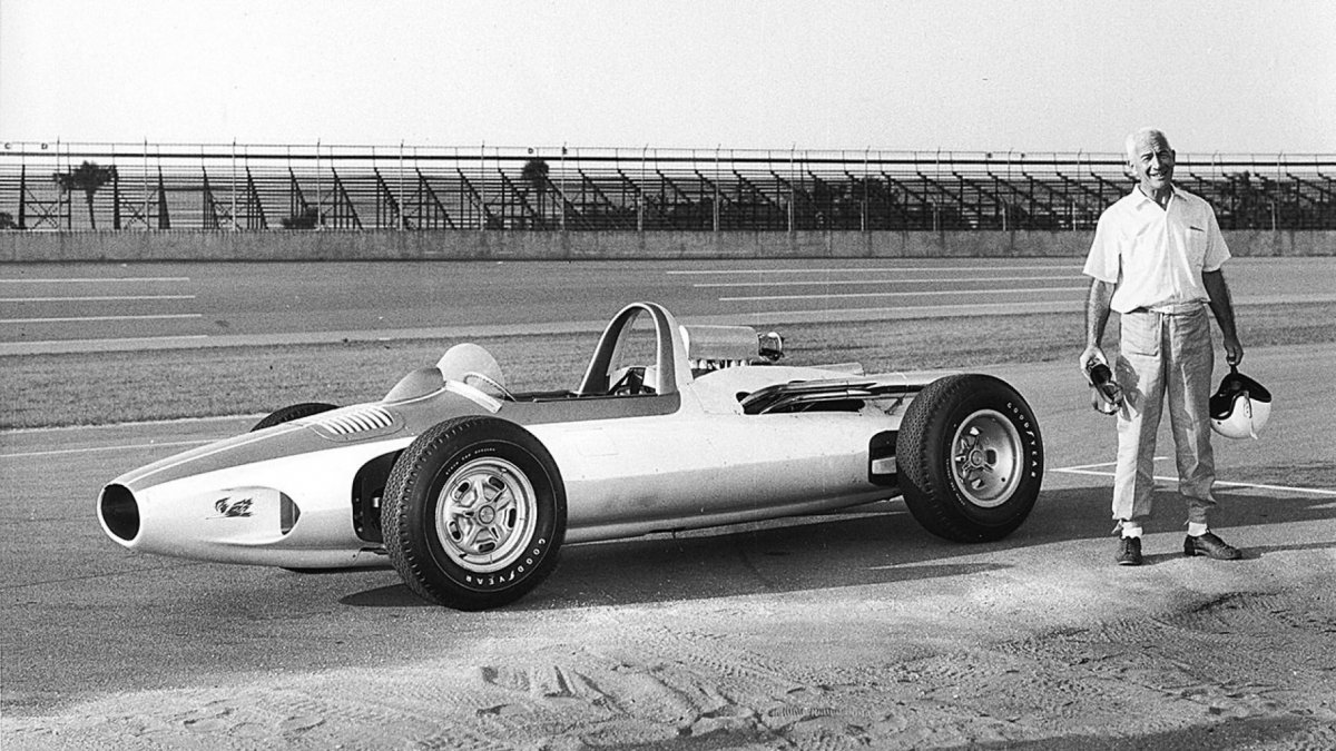 Zora Arkus Duntov first tested the mid-engine layout in the CERV I..jpg