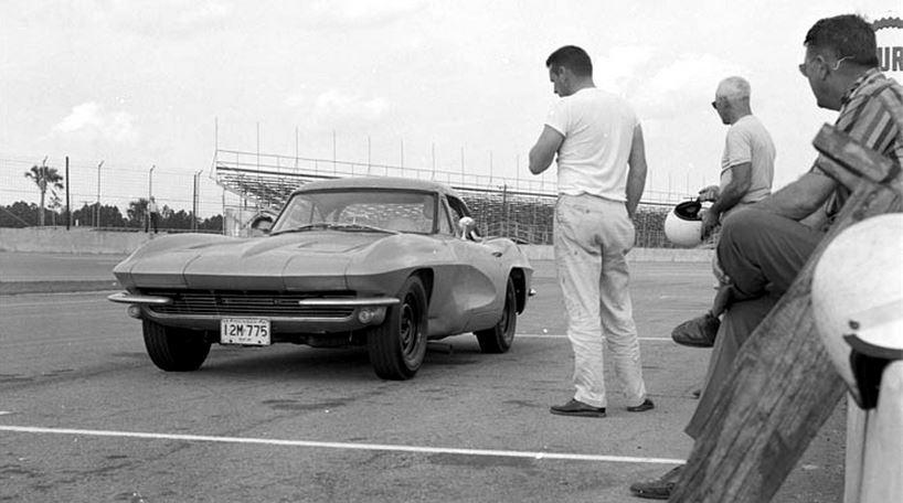 Zora during Sebring testing… C1C2 mashup mule.JPG