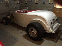 1932 FORD ROADSTER BODY FIBERGLASS GIBBONS MANUFACTURING