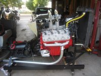 FOR SALE, completely rebuilt 1951, 8BA Ford flathead engine