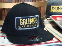 Grumps Black Vintage California License Plate Flex Hat, 1953 | The