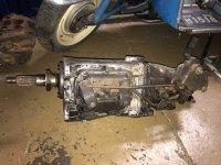1964-65 Muncie M21 Close Ratio 4 Speed with Hurst Competition Plus