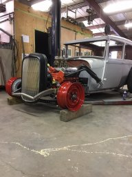 Technical - 50 ford power steering?????????????????   The
