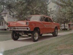 55 Ford Gasser