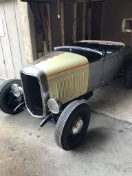 Hot Rods - Old fiberglass T roadster body to get my project