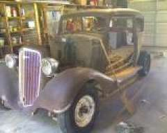 1934 Chevy Master Town Sedan 2 door | The H A M B