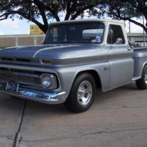 Capitol Chevrolet Austin >> 66 Chevy C10 Stepside. | The H.A.M.B.