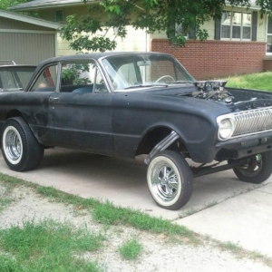 1962 falcon gasser project the h a m b for Garage ford 62