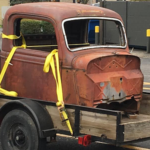 1936 Ford Pickup Project