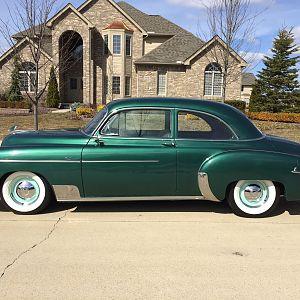 1950 chevy styleline deluxe 2 door sedan the h a m b for 1950 chevy 2 door sedan
