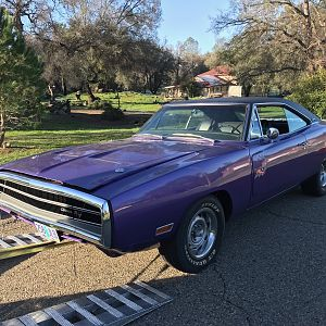 1970 RT Challenger 4 Speed 440 Matching Numbers Direct Enclosed Transport
