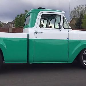 1958 Ford F100 Street Rod - YouTube