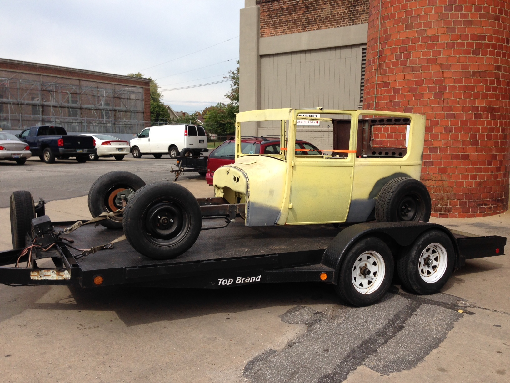 1926 Model T Tudor Sedan project -- Hot Rod | The H.A.M.B.
