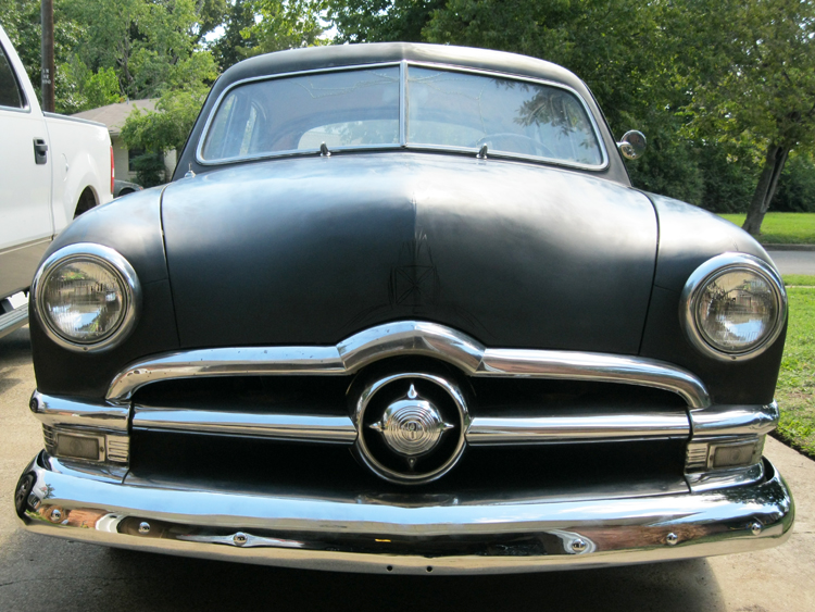 1950 ford shoebox 4 door samantha with her new grill and for 1950 ford 4 door