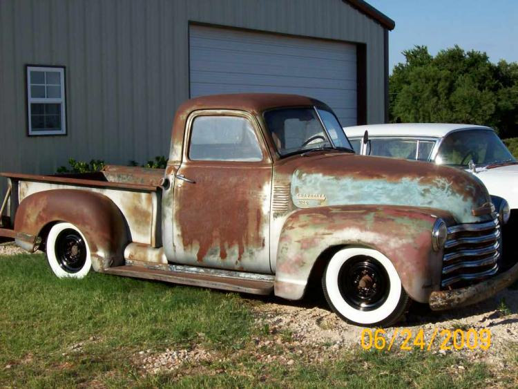 1950 Chevy truck | The H.A.M.B.