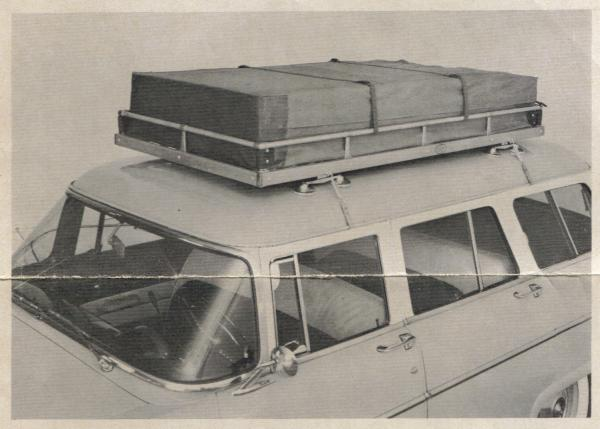 Carter Par Pac Roof Luggage Carrier The Best On 1955