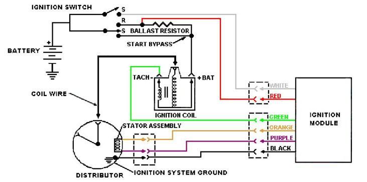 ballast resistor wiring diagram wiring diagram and schematic msd ignition jpg