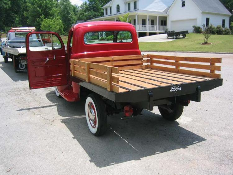 Stake Bed Sides For A Flatbed Truck