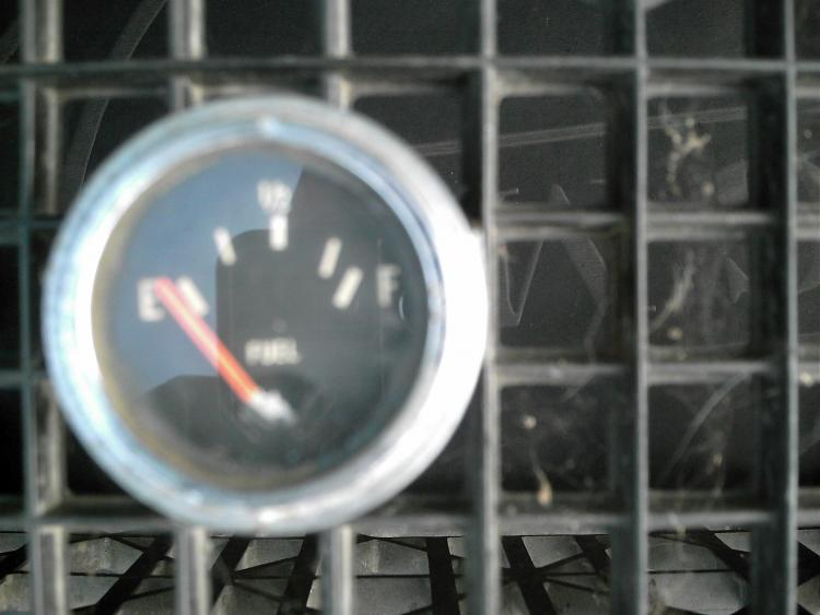 Electronic Gas Gauge : Fuel gauge electronic unknown brand the h a m b