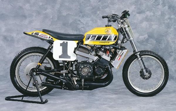 Kenny Roberts Factory Yamaha TZ 750 4 cyl  2 stroke 145hp