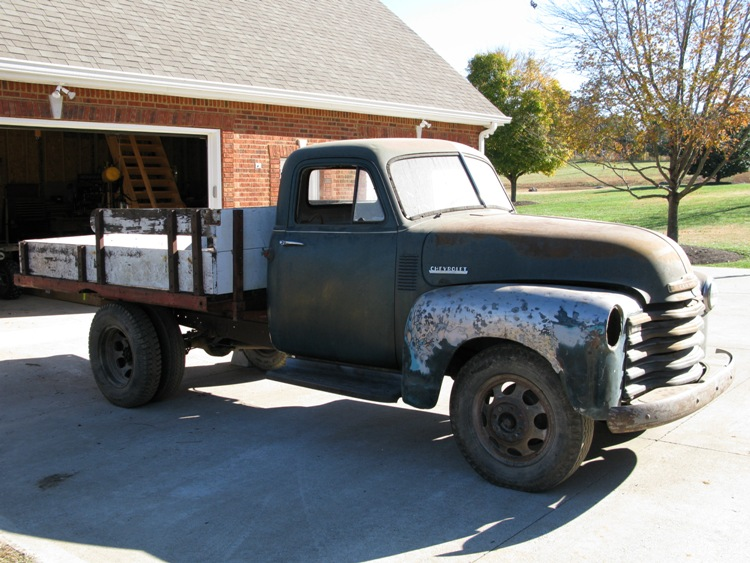 Build A Chevy Truck >> Projects Just Another 1951 Chevy Truck Build The H A M B
