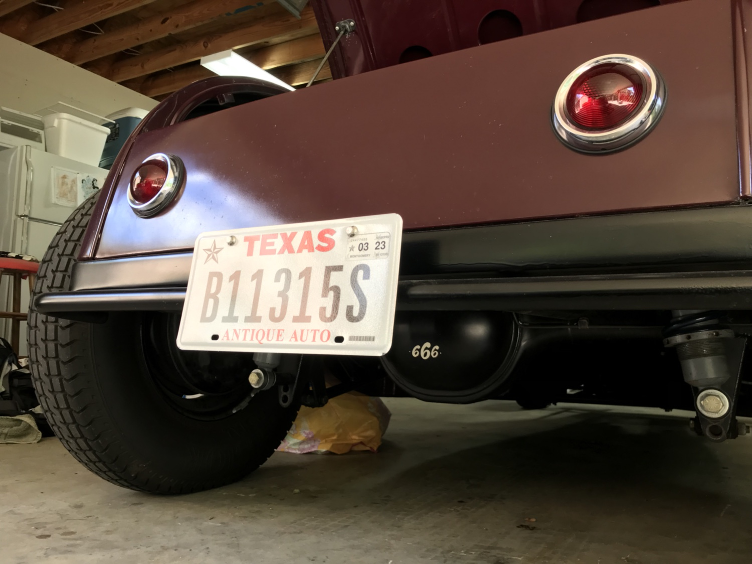 Hot Rods - New Texas Plates | The H.A.M.B.