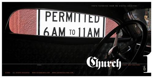 Church - Cars. Not Culture.