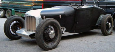 1928 Ford Coupe to Roadster