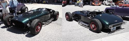 Sports car roadster