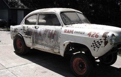 Vintage Henry J Racecar