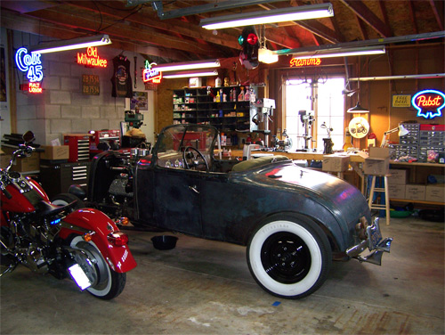 Hot Rod Garages Home : Home build… again… the jalopy journal