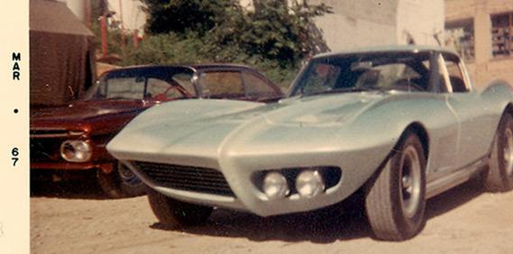 Ray Farhner's Corvette