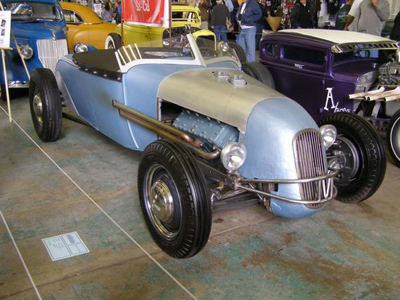 Hudson Joe's roadster was one of my favorite cars at the GNRS this year.
