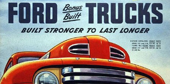 1948 to 1950 Ford Trucks: Rubber
