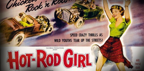 Hot Rod Girl!