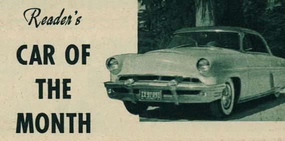 Bob Aguilera's '53 Merc