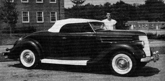 Ed Dell's '36 Roadster