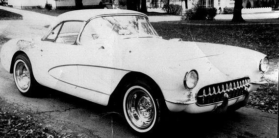 Dad's 56 Corvette