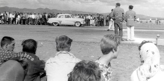 Lewistown, Montana… Drag Racing in 1959.