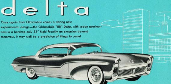 1955 Oldsmobile Delta Concept