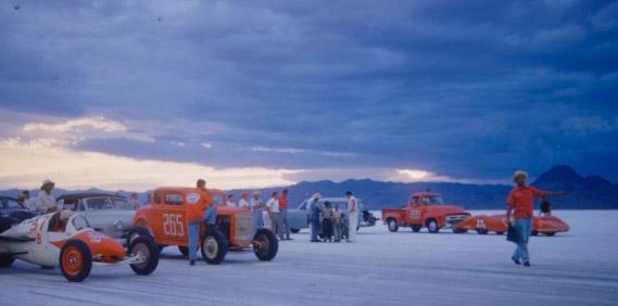 LIFE Images of Bonneville 1954