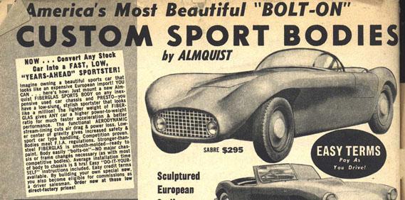 Almquist Sabre Roadster
