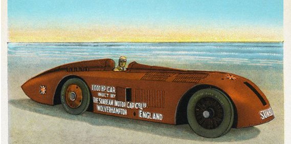 Henry Seagrave's Slug: First to 200 mph.