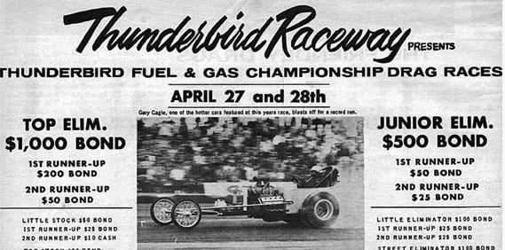 Thunderbird Raceway- Henderson, Nevada circa 1960