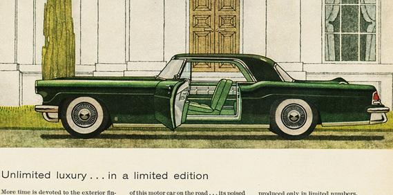 1956/57 Continental Mark II: Born Perfect.