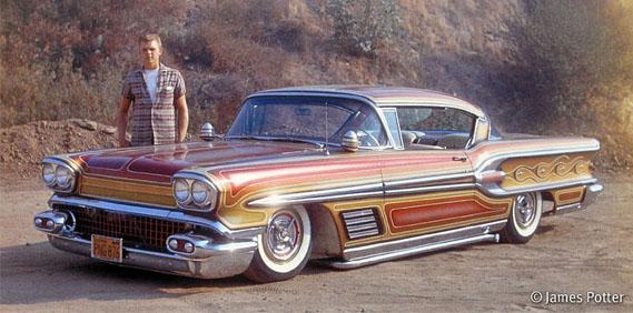 Floyd De Bore 1958 Pontiac Bonneville