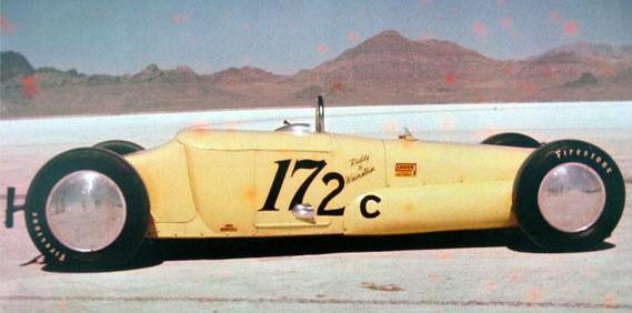 Chuck Porter's Platypus Bonneville Racer