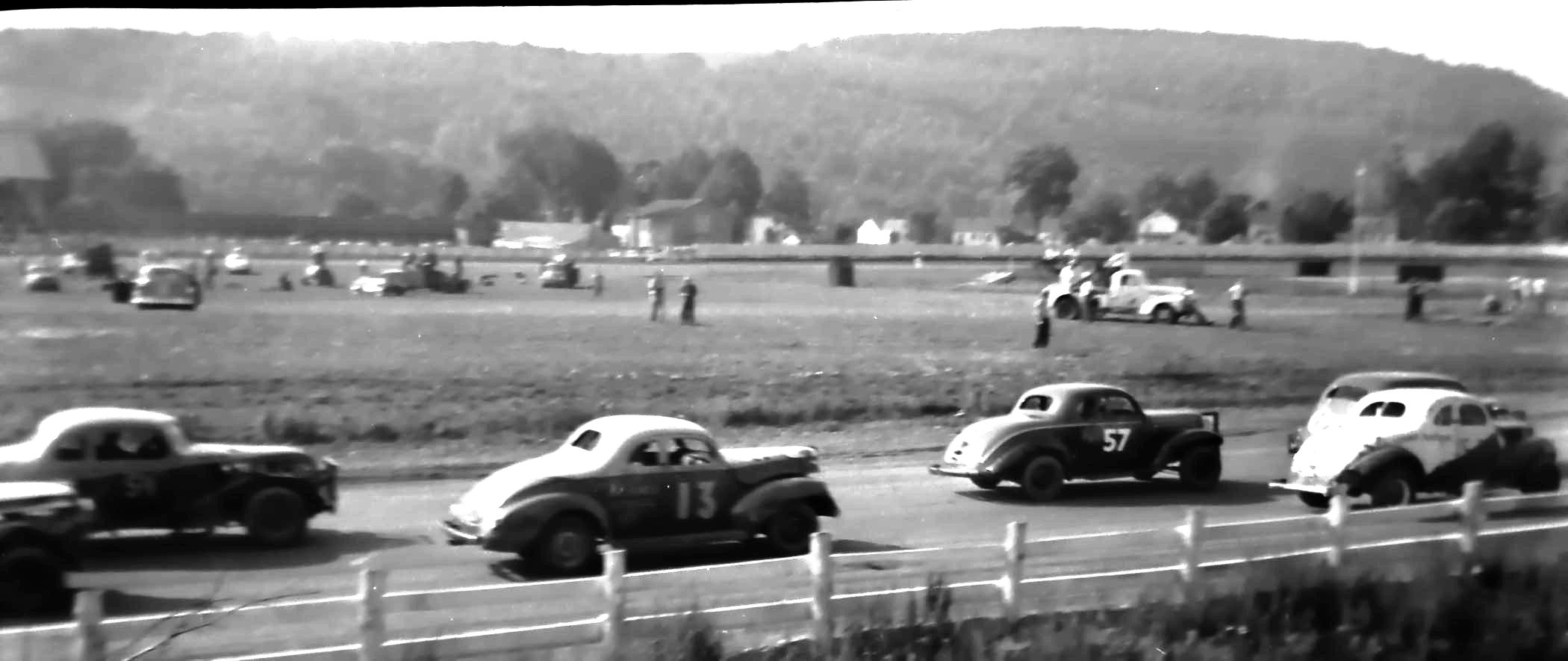 Vintage Dirt Track Cars >> Random Images: Dirt Track racing in the 50s | The Jalopy Journal The Jalopy Journal